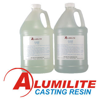 Alumilite Casting Resin, Dyes, and Metallic Powder