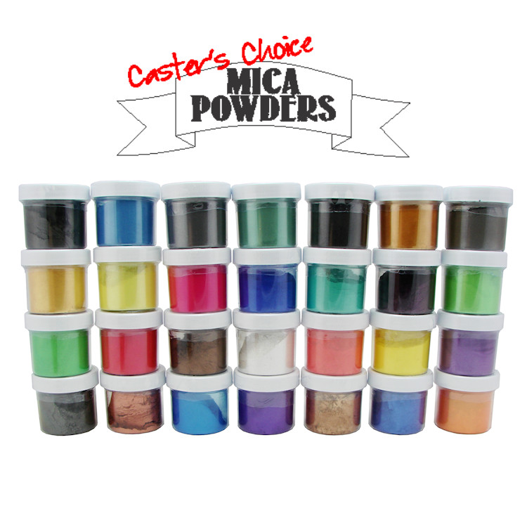 Alumilite Casting Resin, Dyes, and Metallic Powders: Caster's Choice Mica  Powder  75 oz