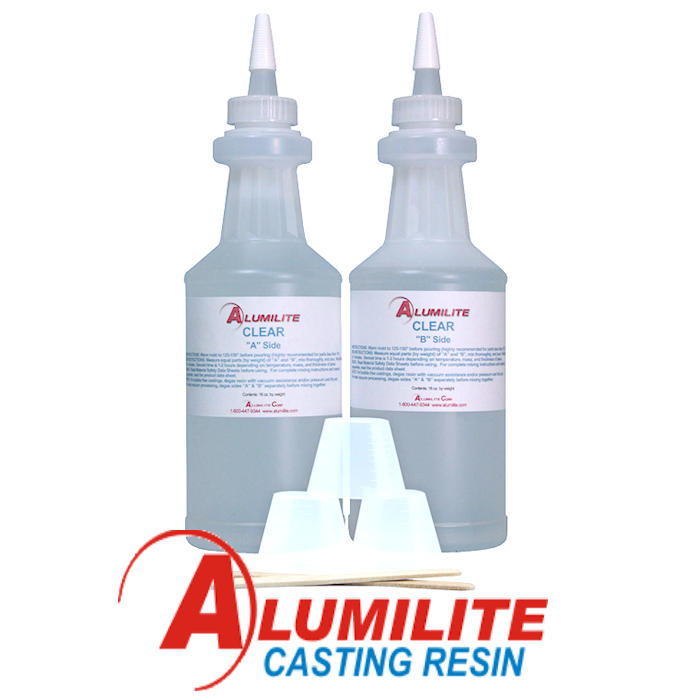 Alumilite Clear 2 lb Kit